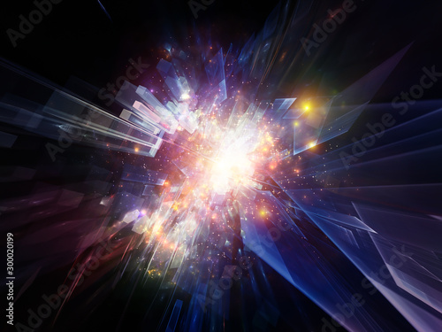 Photo Burst of Abstract Elements
