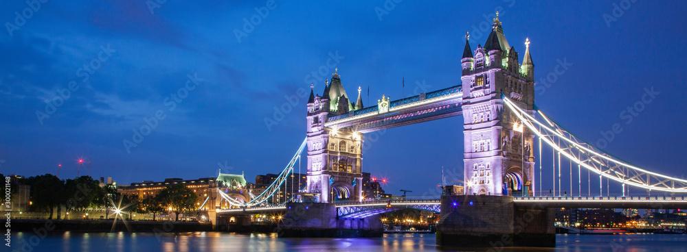 Fototapety, obrazy: tower bridge at night, London, UK