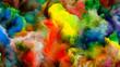 Leinwanddruck Bild - Computing Virtual Color