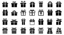Gift Set Different Icon Sign -...