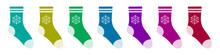 Vector Set Of Christmas Socks ...