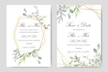 Elegant Watercolor Wedding Inv...