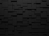 3d wall background. Geometric abstract background. 3D rendering