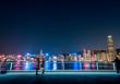 People visit in Hong Kong