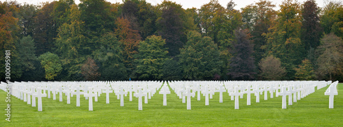 Fotografie, Obraz luxembourg american cemetery and memorial