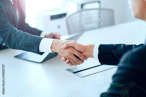 Papel de parede 握手・ビジネス