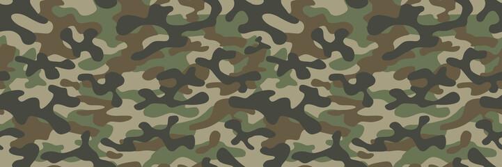 kamuflaż wojskowy tekstura tło żołnierz powtarzane bez szwu zielony druk