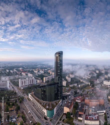 Fotografia Wrocław Sky Tower aerial view