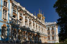 St. Petersburg Russia. Catherine Palace Tsarkoe Selo In Pushkin