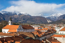 MedIval Kamnik Town In Slovenia