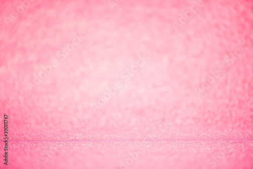 Autocollant pour porte Roses pink bokeh lighting Blurred abstract background for anniversary, wedding, valentine day