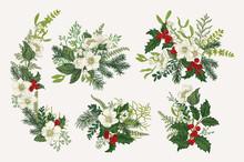 Winter Vintage Bouquets.