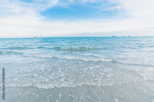 Obraz Beautiful nature sea summer background - fototapety do salonu