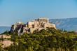 Acropolis and Parthenon in Athens Greece.