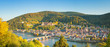 canvas print picture - Panoramic view of beautiful Heidelberg, Germany