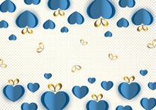 Bright Paper Hearts And Bows O...