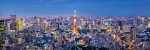Cityscape Of Tokyo Skyline, Pa...