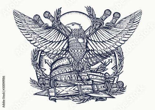 Photo  Symbol of Roman Empire