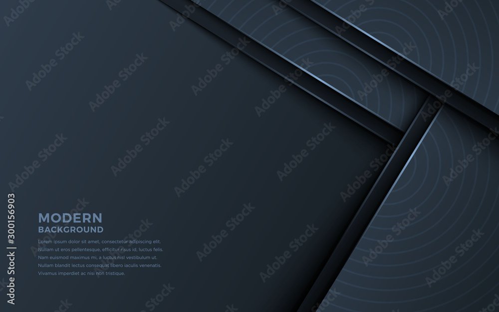Abstract light line power on black shadow design modern luxury futuristic background vector illustration.