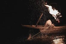 The Pelican Fishing In Gifu,Ja...