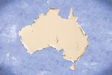 Unusual Map Of The Australia, ...