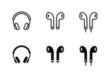 Headphone Airpod Icon