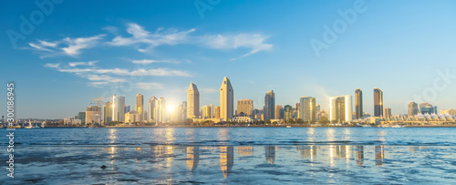 Downtown San Diego skyline in California, USA фототапет
