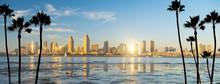 Downtown San Diego Skyline In ...
