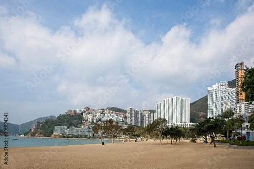 Fototapeta repulse bay beach in Hong Kong