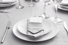 Beautiful Simple Table Setting...