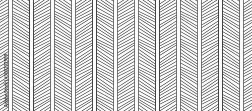 Montage in der Fensternische Künstlich Seamless pattern of diagonal lines. Geometric hipster background. Modern stylish texture. Vector EPS 10