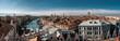 Panorama von Venedig mit Blick auf Canal Grande und Rialto Brücke