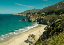 A Bay In Big Sur California Coast