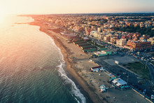 Ostia Beach Aerial View From D...