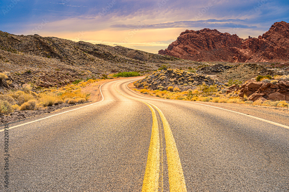Fototapety, obrazy: Valley of Fire Nevada USA