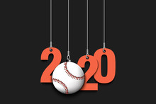 2020 New Year And Baseball Bal...