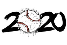 2020 New Year And A Baseball B...