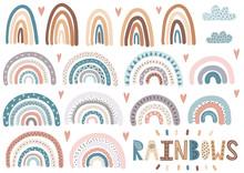 Cute Rainbows, Clouds, Hearts ...