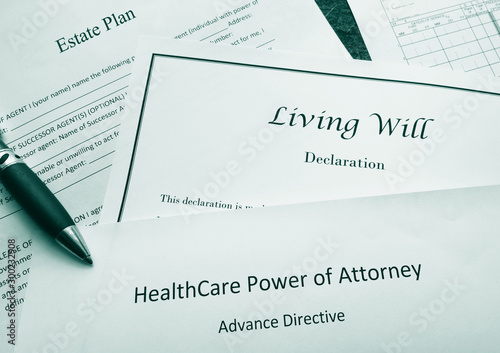 Photo Legal and estate planning documents