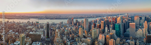 Obraz Manhattan skyline - fototapety do salonu