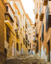 Old Street In Toledo Spain