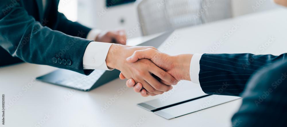 Fototapeta ビジネス・握手
