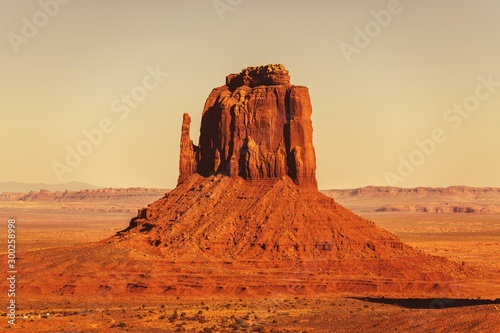 Foto auf AluDibond Ziegel Arizona Sandstone Formation