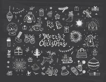 Merry Christmas. Holiday Vecto...
