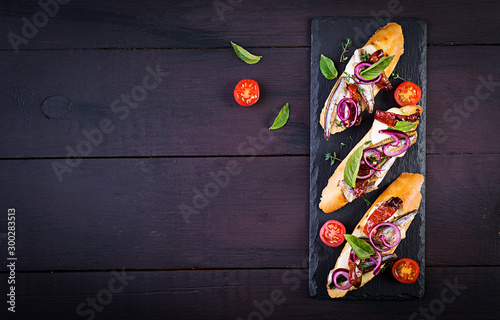 Tapas - Spanish bar food Canvas Print