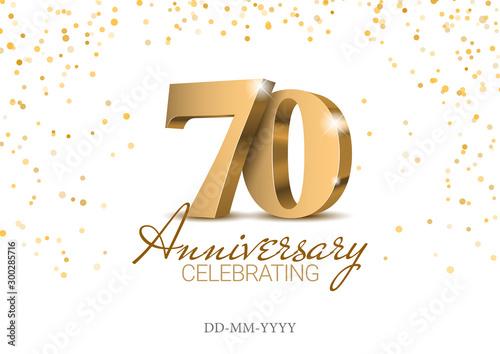 Photographie Anniversary 70