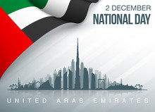 48 UAE National Day Banner Wit...