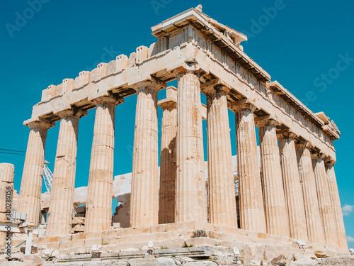 Canvas Prints Historical buildings Parthenon on the Athenian Acropolis, Athens, Greece