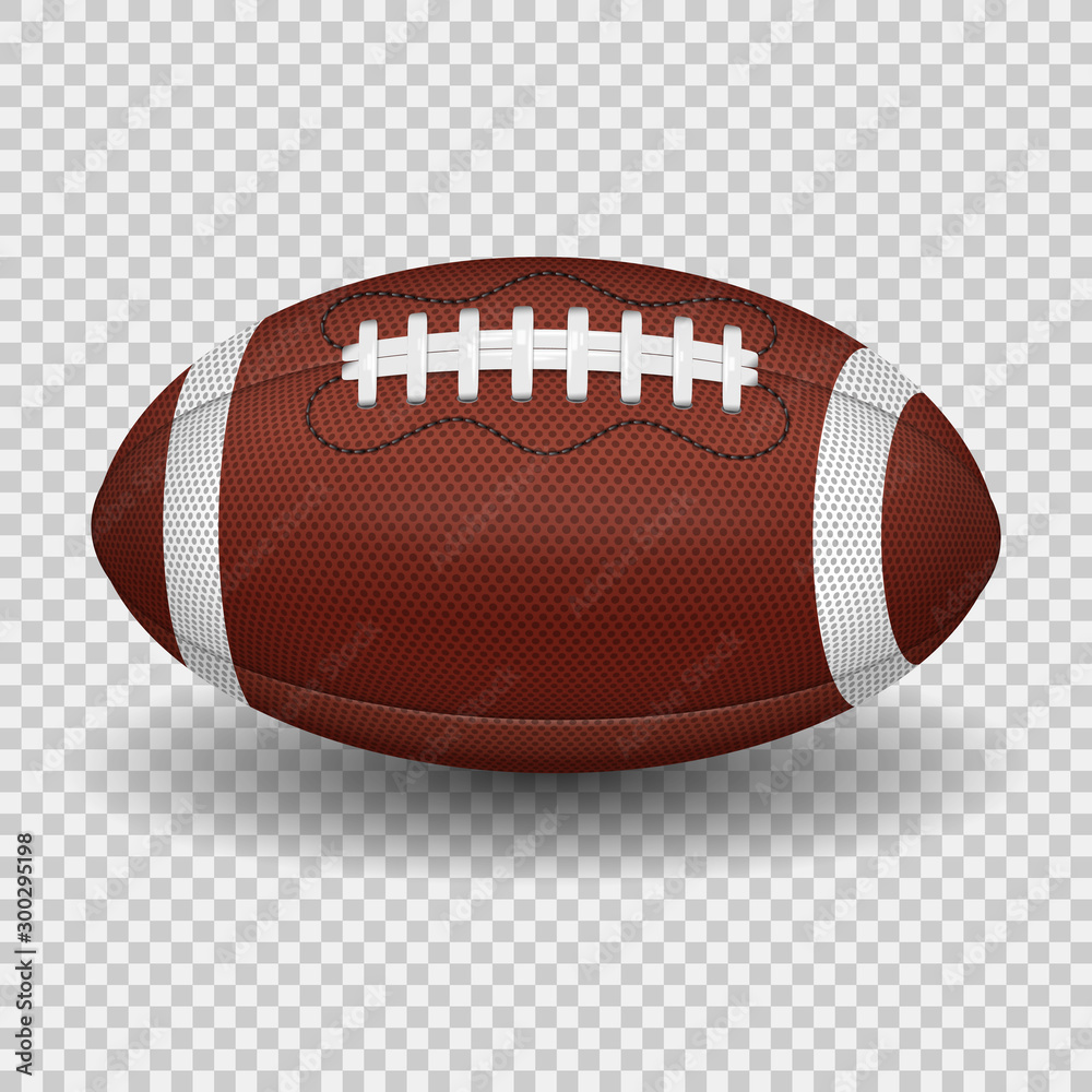 Fototapety, obrazy: American Football Ball