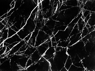 Marble texture black and wh...